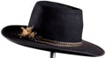 "Movie/TV Memorabilia:Costumes, A Cowboy Hat from ""The Comancheros"" and Possibly ""True Grit.""..."