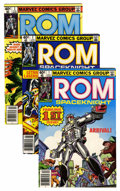 Modern Age (1980-Present):Superhero, Rom Group (Marvel, 1979-86) Condition: Average NM-.... (Total: 79Comic Books)