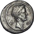 Ancients:Roman Republic, Ancients: Divus Julius Caesar (died 44 BC). AR denarius (3.50 gm)....