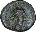 Ancients:Roman Provincial , Ancients: Cleopatra VII of Egypt and and Mark Antony, rulers of theEast (37-31 BC). AE 22 mm (7.27 gm). ...