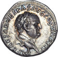 Ancients:Roman Imperial, Ancients: Vespasian (AD 69-79). AR denarius (2.77 gm). ...