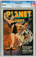 Golden Age (1938-1955):Science Fiction, Planet Comics #39 Big Apple pedigree (Fiction House, 1945) CGC NM9.4 White pages....