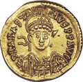 Ancients:Byzantine, Ancients: Anastasius I (AD 491-518). AV solidus (4.46 gm). ...