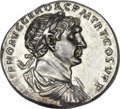 Ancients:Roman Imperial, Ancients: Trajan (AD 98-117). AR denarius (3.57 gm). ...