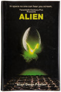 Books:Science Fiction & Fantasy, Alan Dean Foster. Alien. A Novelization. London andSydney: Macdonald General Books, [1979]. First British editi...