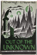 Books:Science Fiction & Fantasy, A. E. van Vogt & E. Mayne Hull. Out of the Unknown. LosAngeles, California: Fantasy Publishing Company, Inc., [...
