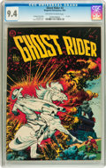 Golden Age (1938-1955):Western, Ghost Rider #3 (Magazine Enterprises, 1951) CGC NM 9.4 Off-white towhite pages....