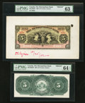 Canadian Currency: , Toronto, ON- The Metropolitan Bank $5 Nov. 5, 1902 Ch. #485-10-02FP/BP Face and Back Proofs. ... (Total: 2 notes)
