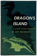 Books:Signed Editions, Jack Williamson. Dragon's Island. New York: Simon and Schuster, 1951. First edition. Inscribed by the author to Je...