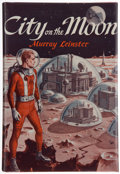 Books:First Editions, Murray Leinster [pseudonym of William Jenkins]. City on theMoon. New York: Avalon Books, [1957]. First edition, fir...