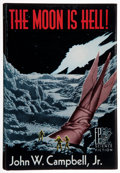 Books:Signed Editions, John W. Campbell, Jr. The Moon Is Hell! Reading: FantasyPress, [1951]. First edition, limited to 500 numbered copie...