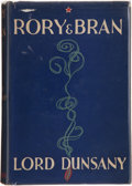 Books:First Editions, Lord Dunsany. Rory and Bran. London: William Heinemann,[1936]. First edition. Publisher's binding and price-clipped...