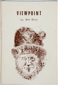Books:Signed Editions, Ben Bova. Viewpoint. Cambridge: NESFA Press, 1977. Limited to 800 numbered copies, of which this is number 23. Ins...