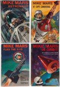 Books:First Editions, Donald A. Wollheim. Four Mike Mars Titles, including: Mike Mars,Astronaut. [and:] MM at Cape Canaveral. [an... (Total: 4Items)