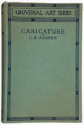 Books:First Editions, C. R. Ashbee. Caricature. London: Chapman and Hall, 1928.First edition. Publisher's binding and dust jacket. Light ...