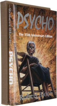 Robert Bloch. Psycho: The 35th Anniversary Edition. [Springfield]: Gauntlet Publicat