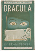 Books:Horror & Supernatural, Bram Stoker. Dracula. New York: Grosset & Dunlap, [1891]. Later edition. Publisher's orange cloth over thin boards w...