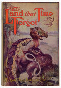 Books:Science Fiction & Fantasy, Edgar Rice Burroughs. The Land That Time Forgot. New York: Grosset & Dunlap Publishers, [1940]. Later edition. ...