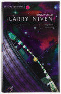 Books:Science Fiction & Fantasy, Larry Niven. Ringworld. London: Gollancz, [2001]. Signed by Niven on the title page. Octavo. 288 pages. Publ...