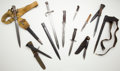 Edged Weapons:Bayonets, Lot of Assorted Edged Weapons.... (Total: 10 Items)