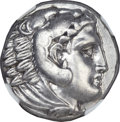 Ancients:Greek, Ancients: Alexander III the Great (336-323 BC). AR tetradrachm(17.14 gm). ...