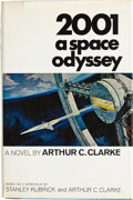 Books:First Editions, Arthur C. Clarke. 2001: A Space Odyssey. New York: The NewAmerican Library, [1968]. First American edition. Oct...