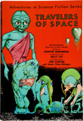Books:Signed Editions, Martin Greenberg, editor. Travelers of Space. New York,Gnome Press, [1951]. First edition. Sam Moskowitz's copy,...