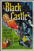 """Movie Posters:Mystery, The Black Castle (Universal International, 1952). One Sheet (27"""" X41""""). Mystery.. ..."""