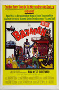 """Movie Posters:Action, Batman (20th Century Fox, 1966). One Sheet (27"""" X 41""""). Action.. ..."""