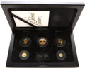 China, China: People's Republic. Five-piece Gold Unicorn Proof Set 1995,... (Total: 5 coins)