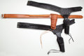 Arms Accessories:Holsters, Lot of Assorted Western Gunbelts and Holsters....