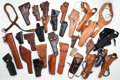 Arms Accessories:Holsters, Lot of 31 Assorted Holsters....
