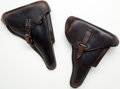 Arms Accessories:Holsters, Lot of 2 German Military Holsters....