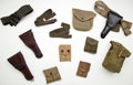Arms Accessories:Holsters, Lot of Assorted Military Holsters, Belts, Magazine Holders....