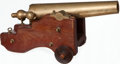 Long Guns:Other, Miniature Brass Signal Cannon by R.H. Brown & Co.....