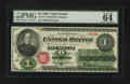 Large Size:Legal Tender Notes, Fr. 16 $1 1862 Legal Tender PMG Choice Uncirculated 64.. ...