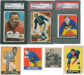 Football Cards:Lots, 1940's-60's Topps & Bowman Collection (32). ...