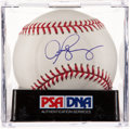 Baseball Collectibles:Balls, Alex Rodriguez Single Signed Baseball PSA Gem Mint 10. ...