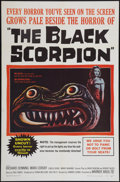 "Movie Posters:Science Fiction, The Black Scorpion (Warner Brothers, 1957). One Sheet (27"" X 41"").Science Fiction.. ..."