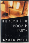 Books:First Editions, Edmund White. The Beautiful Room Is Empty. New York: Knopf,1988. First edition, first printing. Octavo. Publisher's...
