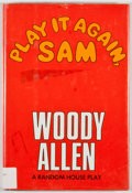 Books:First Editions, Woody Allen. Play It Again, Sam. New York: Random House,[1969]. First edition, first printing. Octavo. Publisher's ...