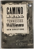 Books:First Editions, Tennessee Williams. Camino Real. [New York]: New Directions,[1953]. First revised edition. Octavo. Publisher's bind...