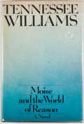 Books:First Editions, Tennessee Williams. Moise and the World of Reason. New York:Simon and Schuster, [1975]. First edition, first printi...