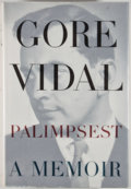 Books:Signed Editions, Gore Vidal. SIGNED. Palimpsest. New York: Random House, [1995]. First edition, first printing. Signed by Vidal...