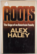 Books:First Editions, Alex Haley. Roots. Garden City: Doubleday, 1976. Firstedition, first printing. Octavo. Publisher's binding and dust...