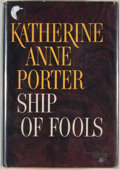 Books:First Editions, Katherine Anne Porter. Ship of Fools. Boston: Little, Brown,[1962]. First edition, first printing. Octavo. Publishe...
