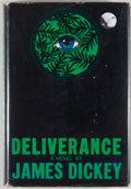 Books:First Editions, James Dickey. Deliverance. Boston: Houghton Mifflin, 1970.First edition, first printing. Octavo. Publisher's bi...