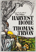 Books:First Editions, Thomas Tryon. Harvest Home. New York: Knopf, 1973. Firstedition, first printing. Octavo. Publisher's binding and du...