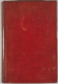 Books:First Editions, Walter Prescott Webb. The Texas Rangers. Boston: HoughtonMifflin Company, 1935. First edition. Octavo. Publisher's ...