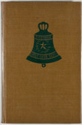 Books:Signed Editions, Bessie Lee Fitzhugh. INSCRIBED. Bells Over Texas. El Paso: Texas Western Press, 1955. First edition. Inscribed by ...